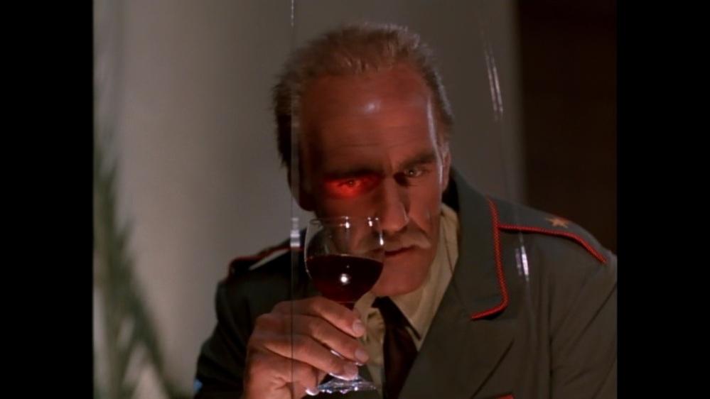 Wine as laser detector